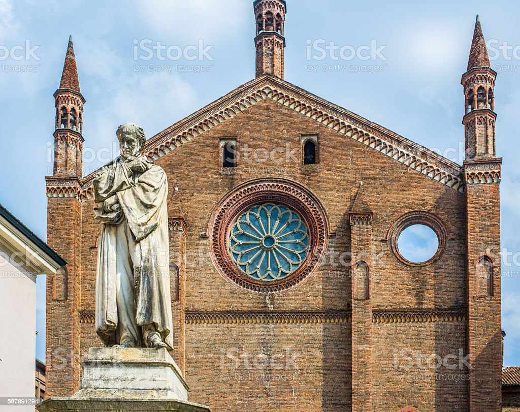 San Francesco church of Piacenza. Emilia-Romagna. Italy. stock photo