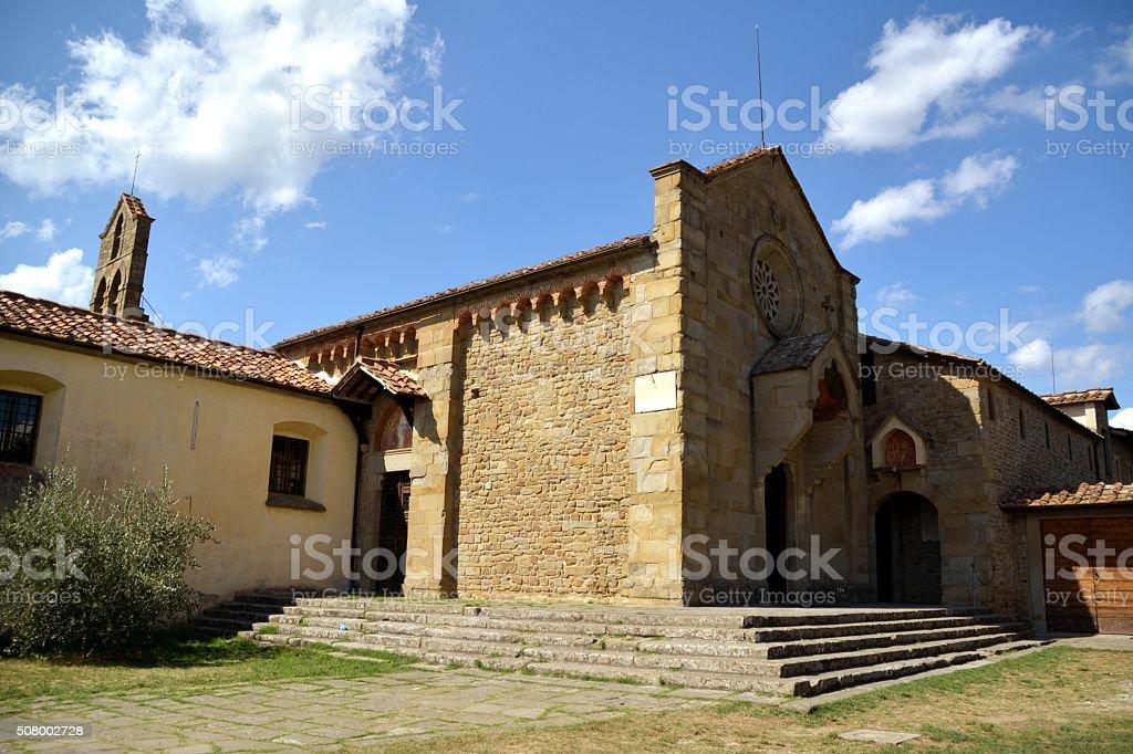 San Francesco Monastery in Fiesole, Florence stock photo