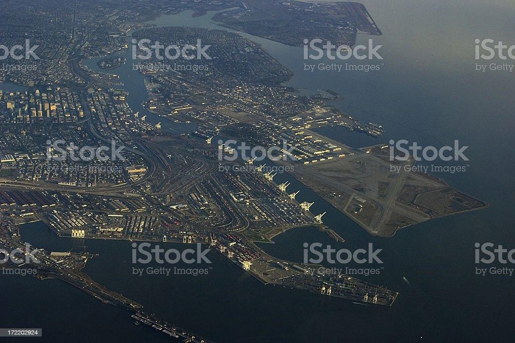 San Francisco aerial view royalty-free stock photo