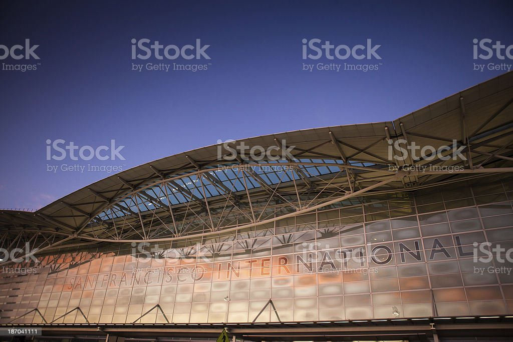 San Francisco Airport stock photo