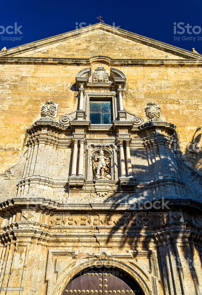 San Francisco and Eulogio Church in Cordoba, Spain stock photo