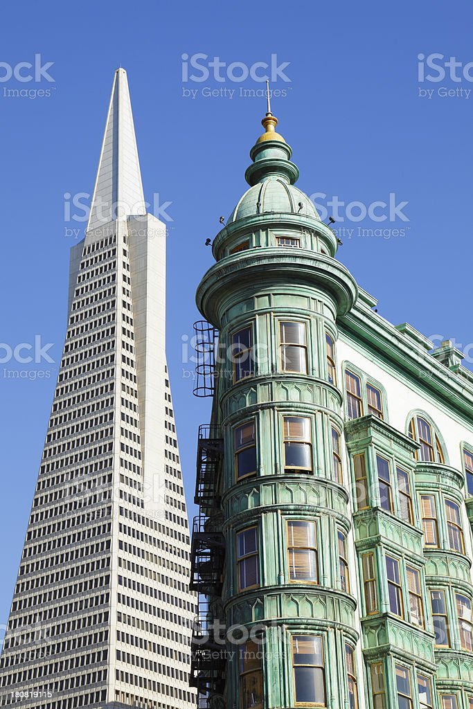 San Francisco Architecture royalty-free stock photo