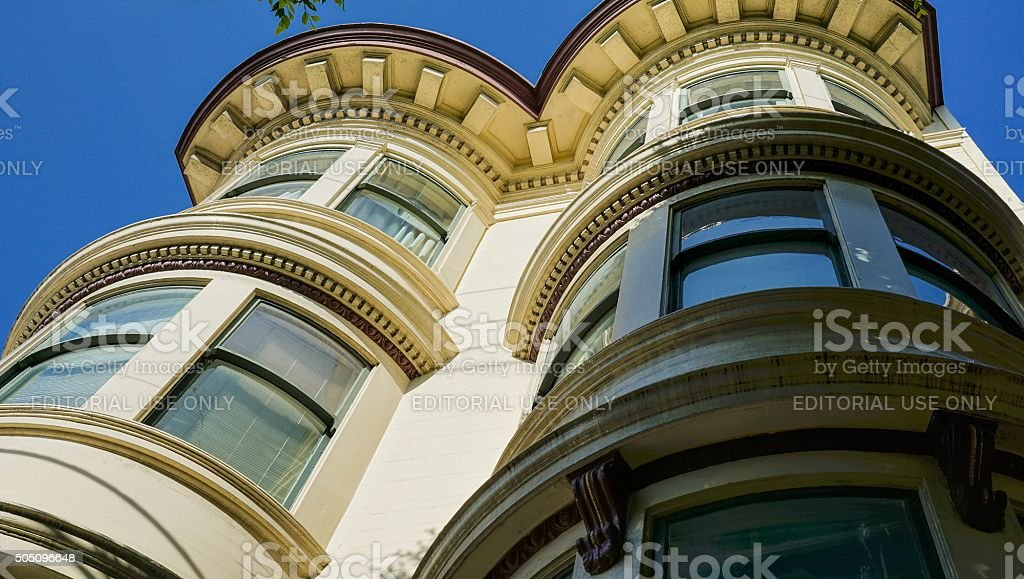 San Francisco Architecture stock photo