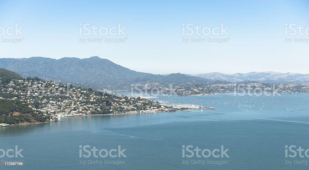 San francisco bay - aerial view royalty-free stock photo