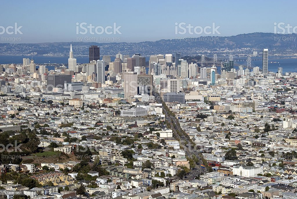 San Francisco Bay Area royalty-free stock photo