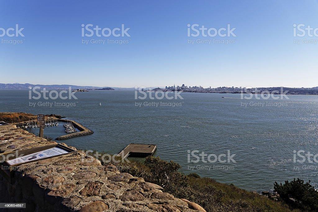 San Francisco bay area royalty-free stock photo