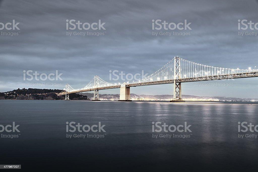 San Francisco Bay Bridge stock photo