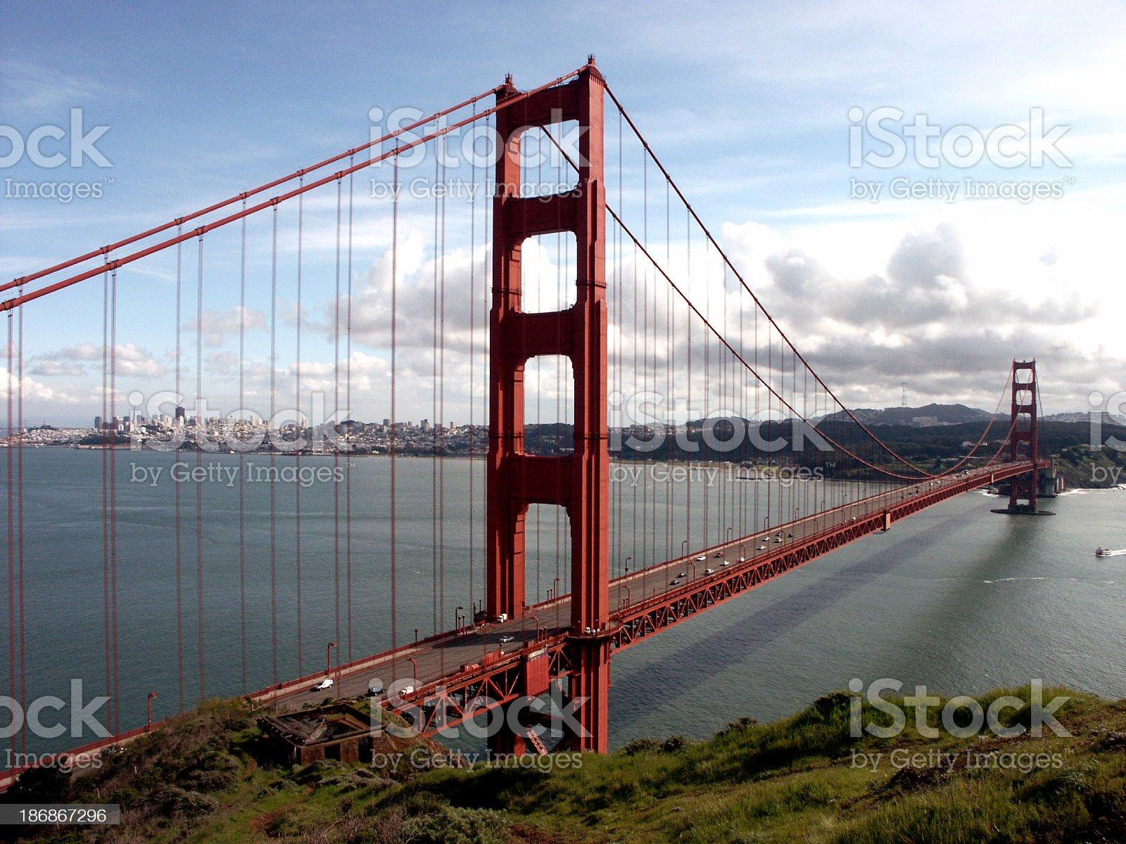 San Francisco Bluff royalty-free stock photo