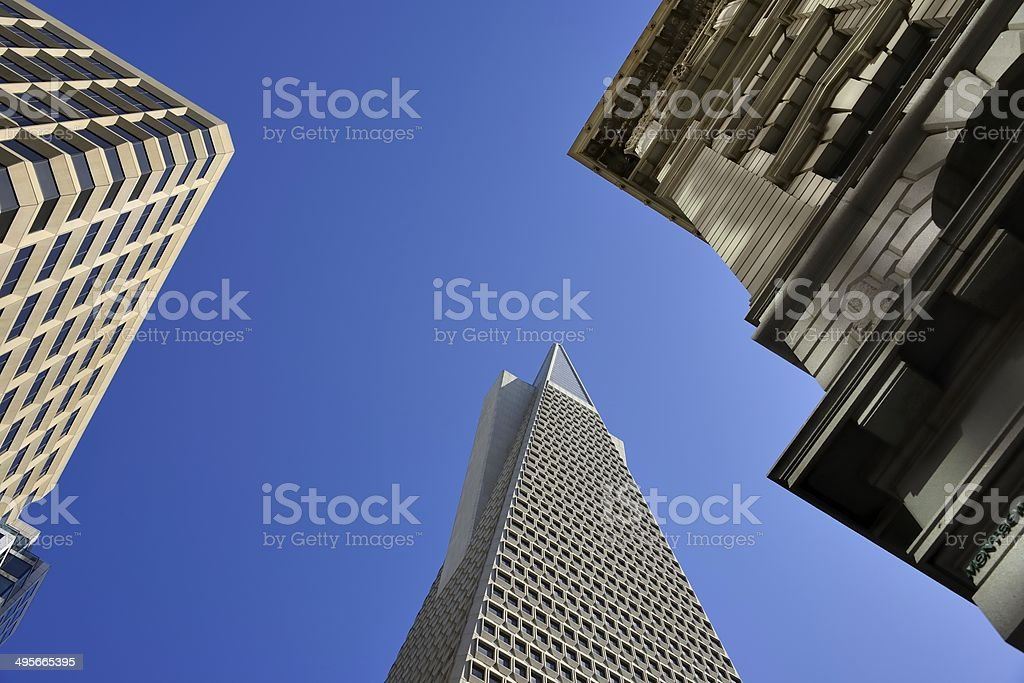 San Francisco buildings and skylines. stock photo