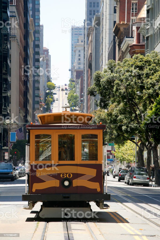 San Francisco Cable Car royalty-free stock photo