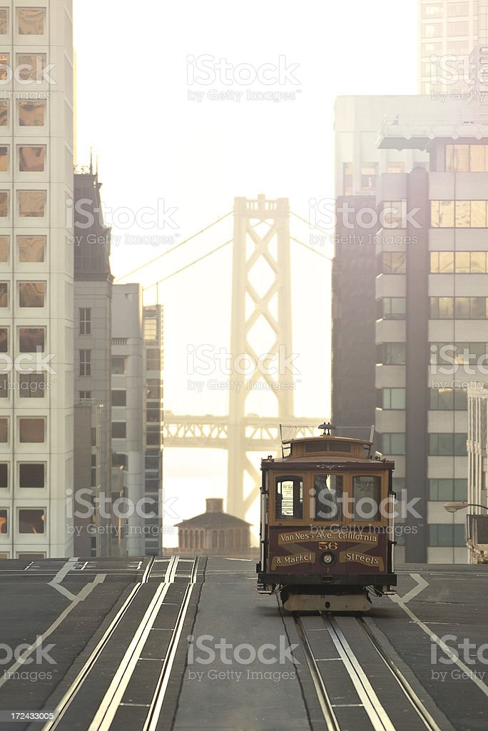 San Francisco Cable Car stock photo