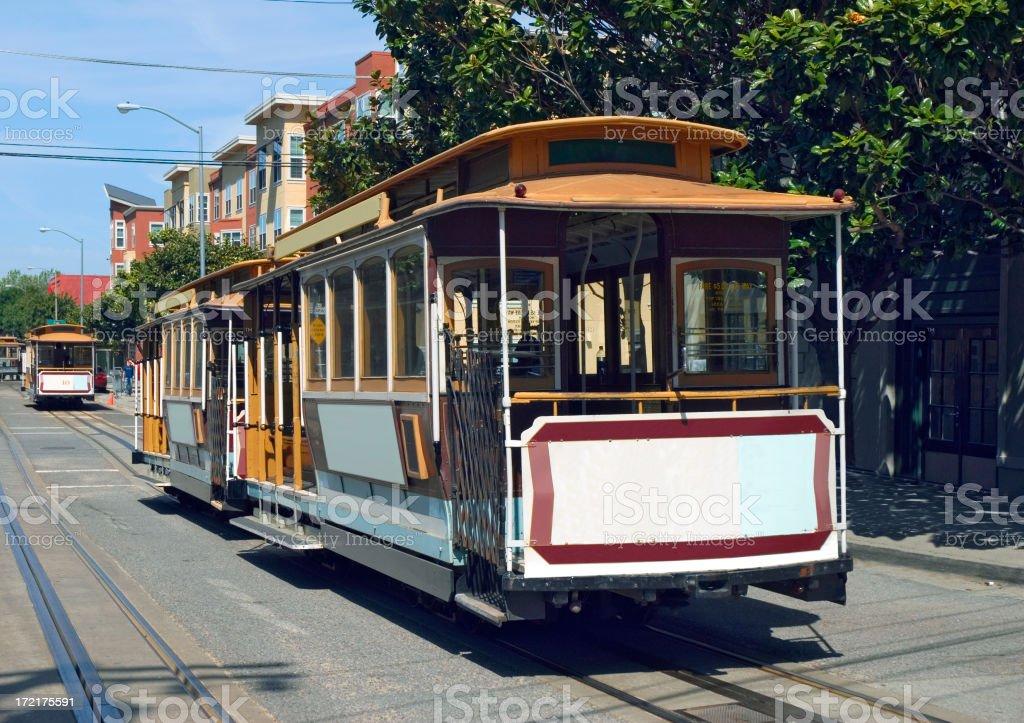 San Francisco Cable Cars royalty-free stock photo