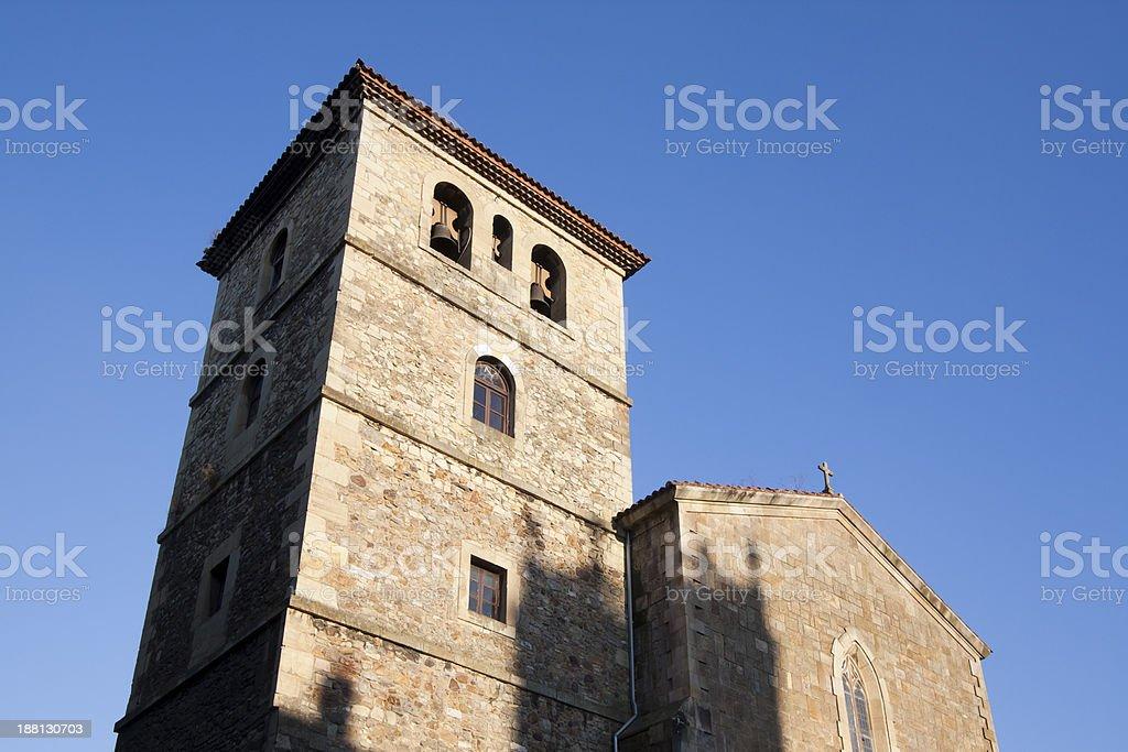 San Francisco church, Avil?s stock photo