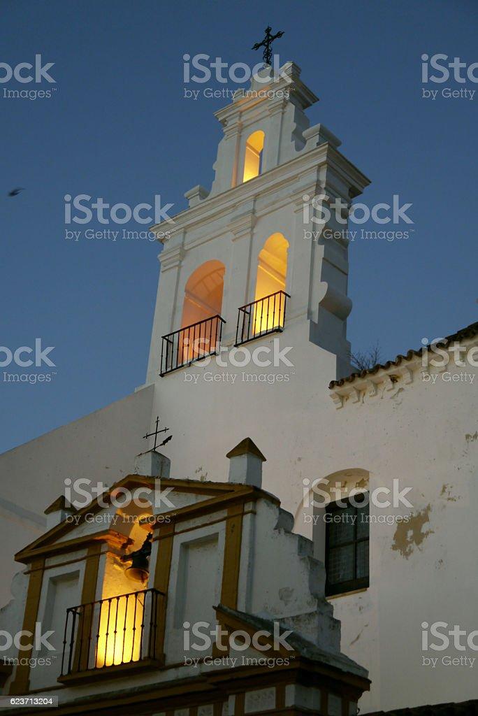 San Francisco church, Ayamonte. SPAIN stock photo