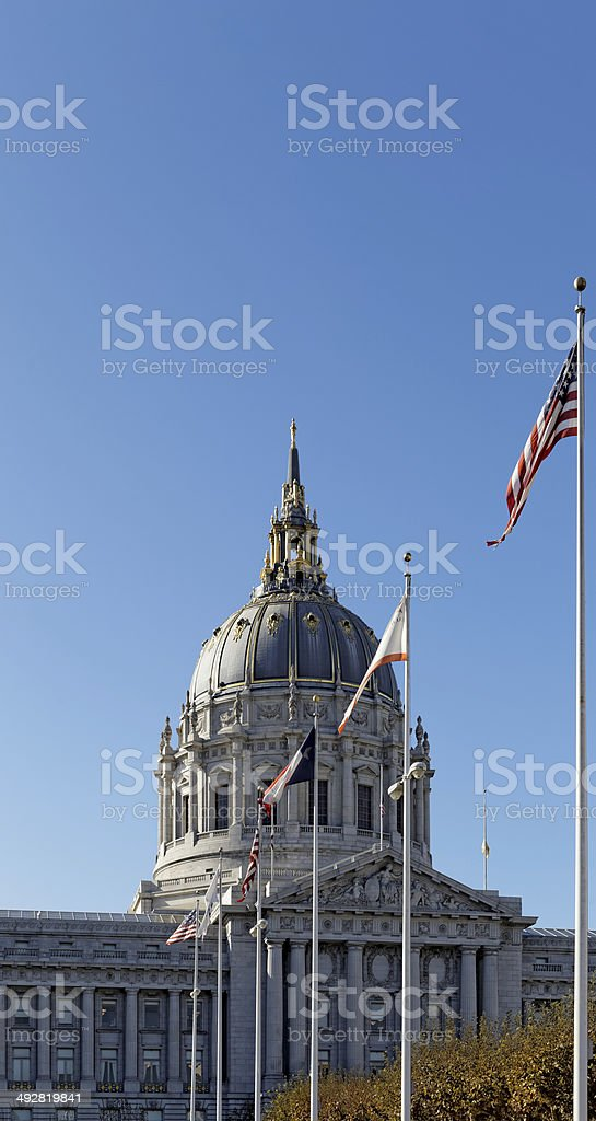 San Francisco City Hall royalty-free stock photo