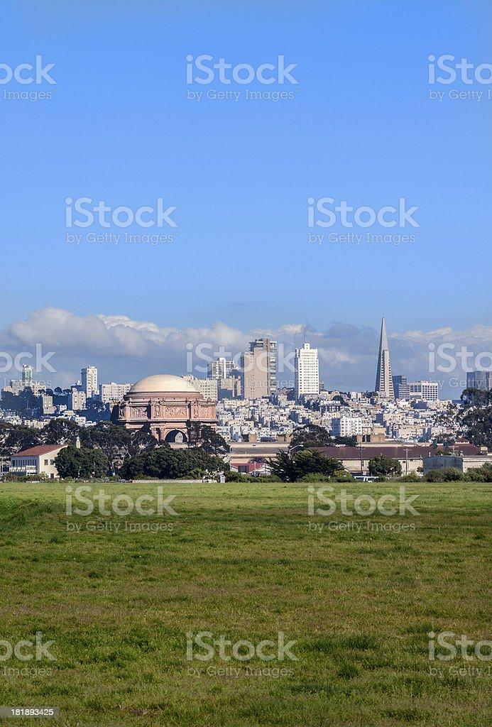 San Francisco Cityscape, California royalty-free stock photo