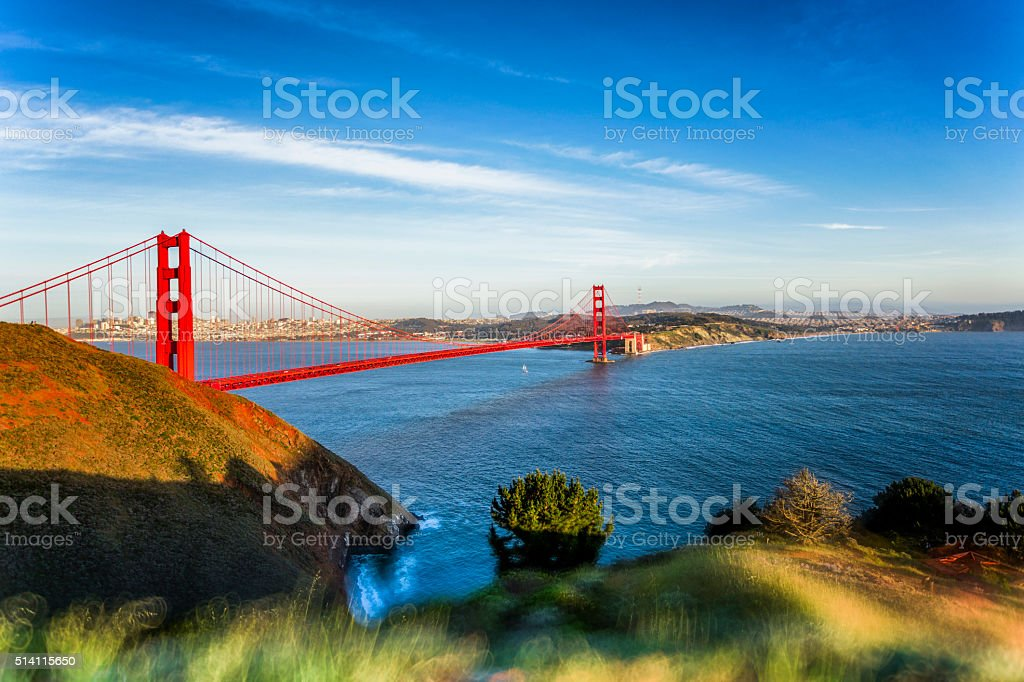 San Francisco Cityscape on a Clear Day stock photo
