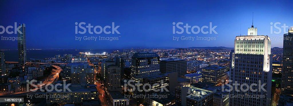 San Francisco cityscape stock photo