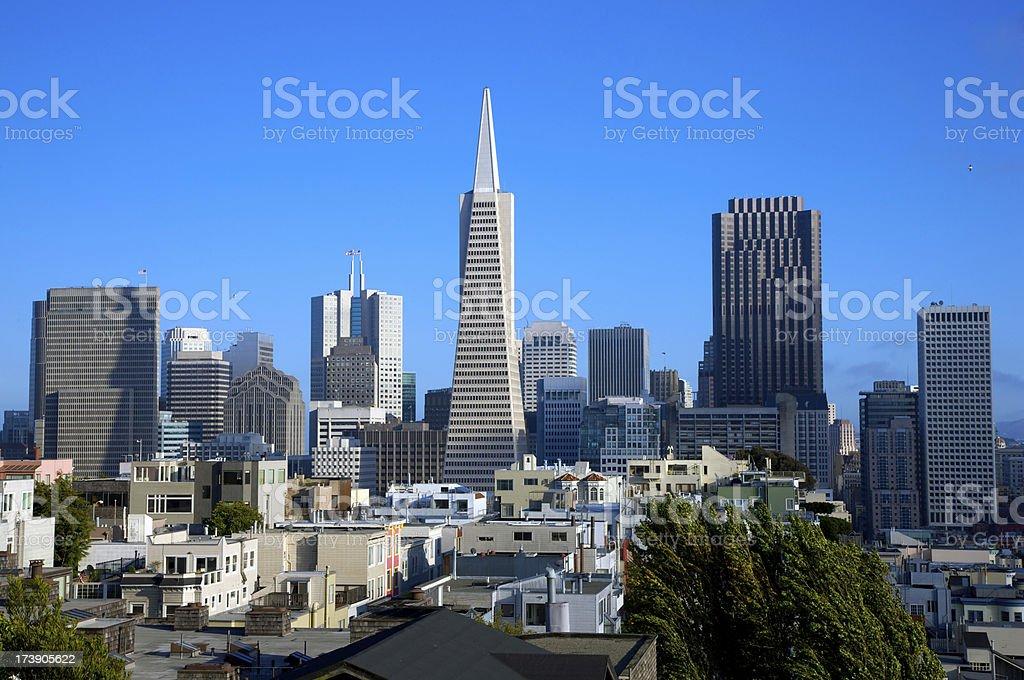 San Francisco Cityscape royalty-free stock photo