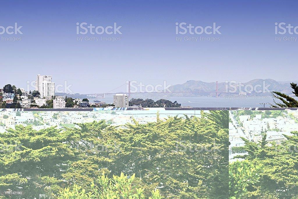 San Francisco cityview royalty-free stock photo