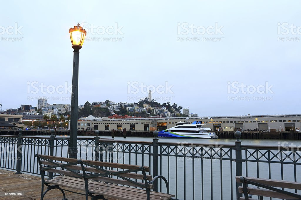 San Francisco: Coit Tower stock photo