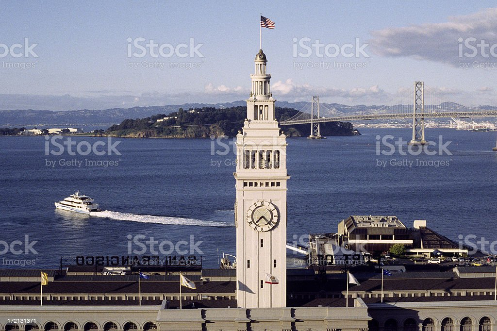 San Francisco - commute by ferry to beat the traffic royalty-free stock photo