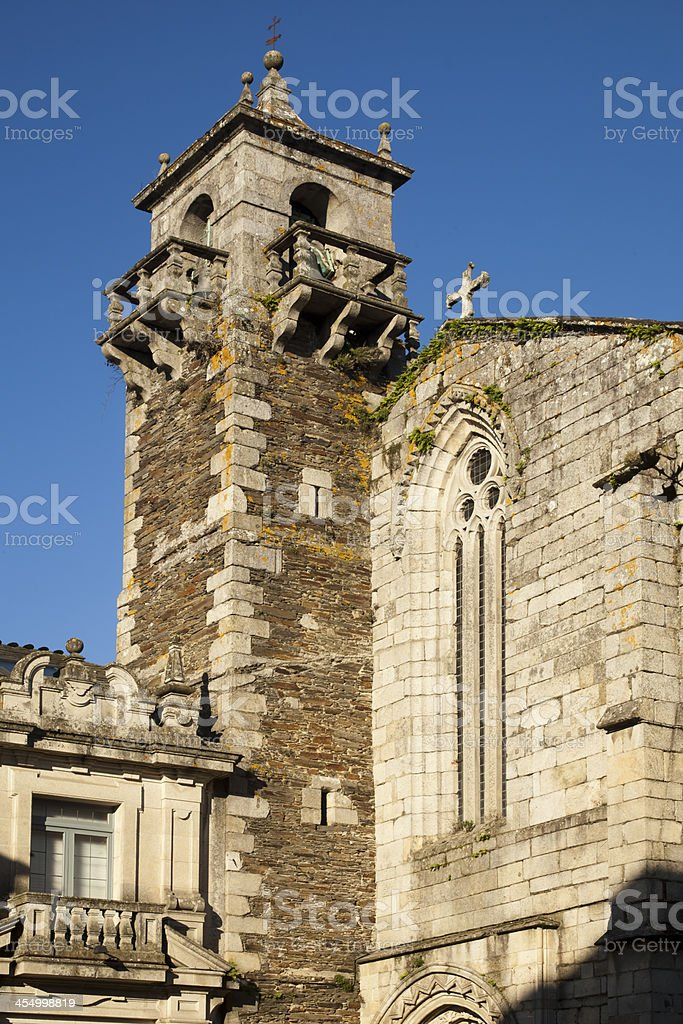 San Francisco convent, Lugo, Spain royalty-free stock photo
