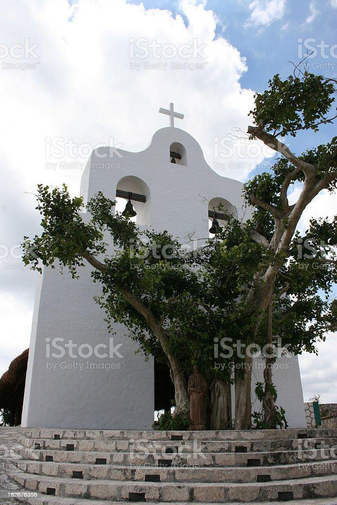 San Francisco de Asis Chapel stock photo