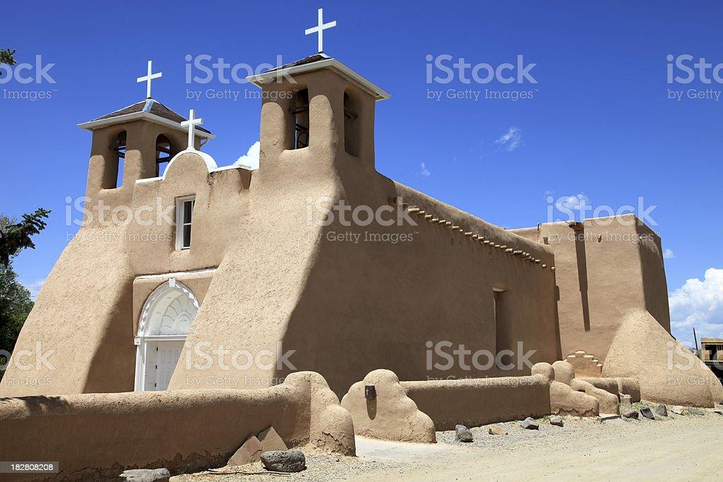 San Francisco de Asis Church stock photo