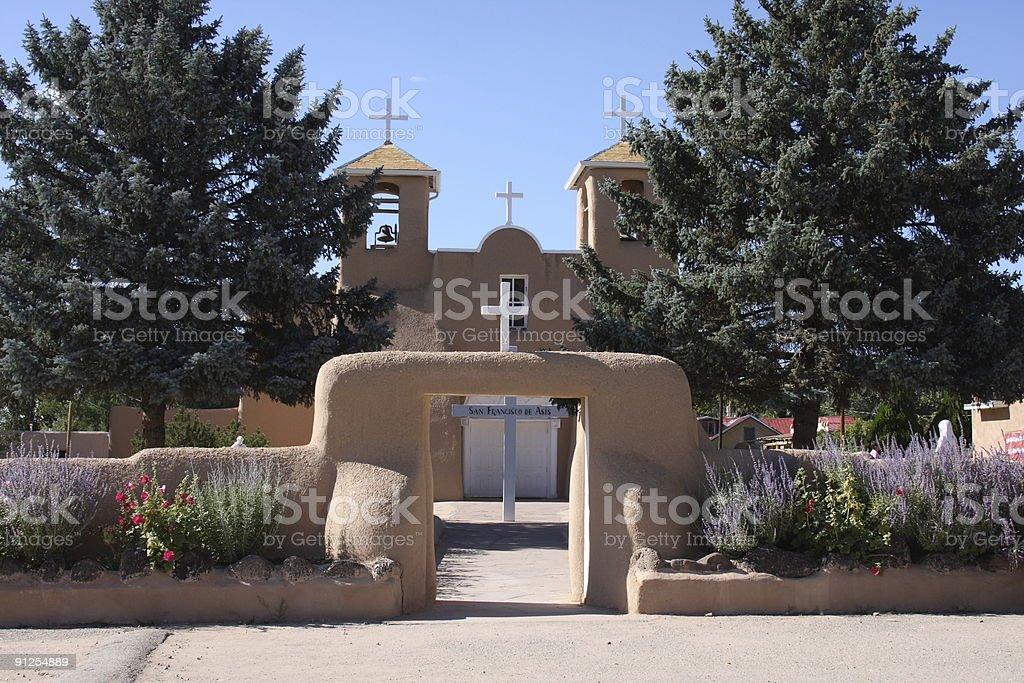 San Francisco De Asis Church, Taos, New Mexico stock photo