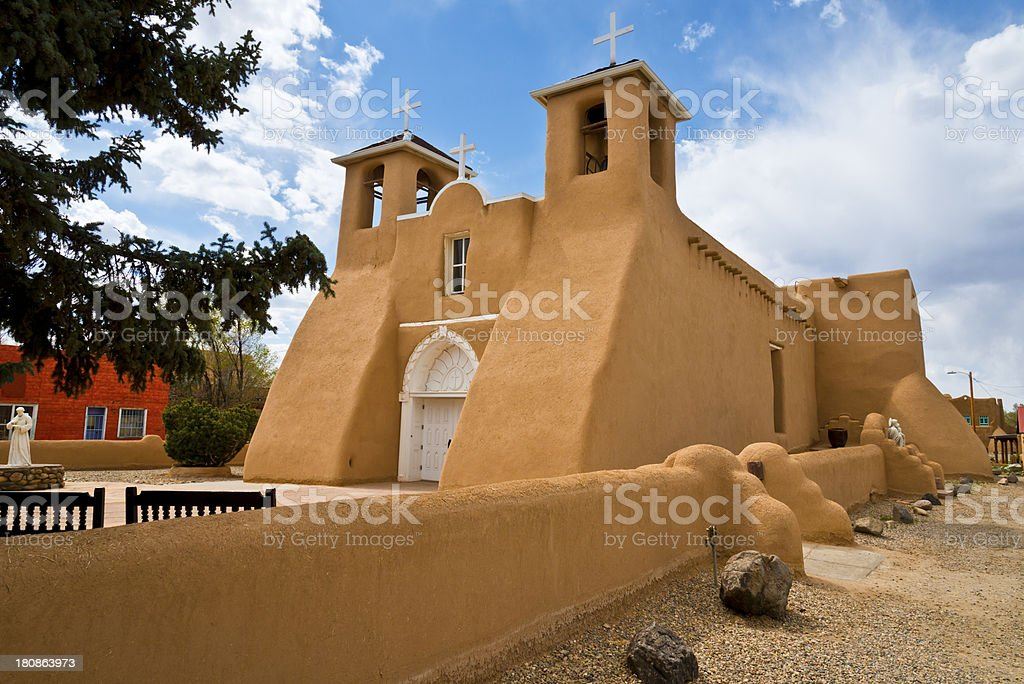 San Francisco de Asis Mission Church royalty-free stock photo