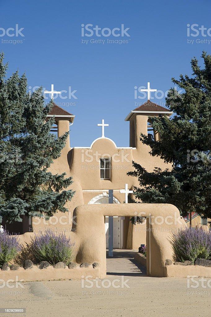 San Francisco de Asis Mission Church stock photo