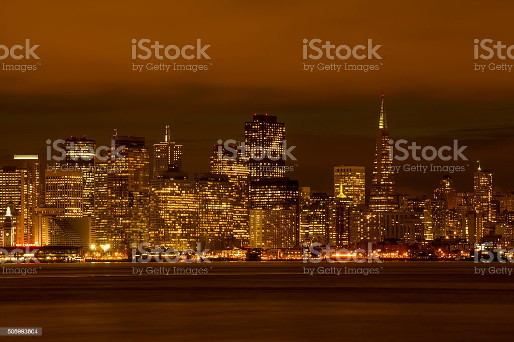 San Francisco Downtown, California stock photo