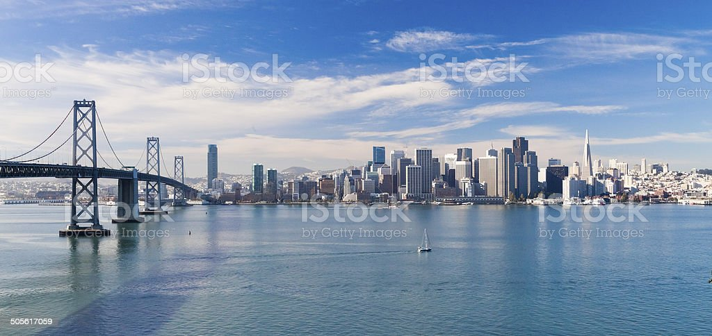 San Francisco Downtown stock photo