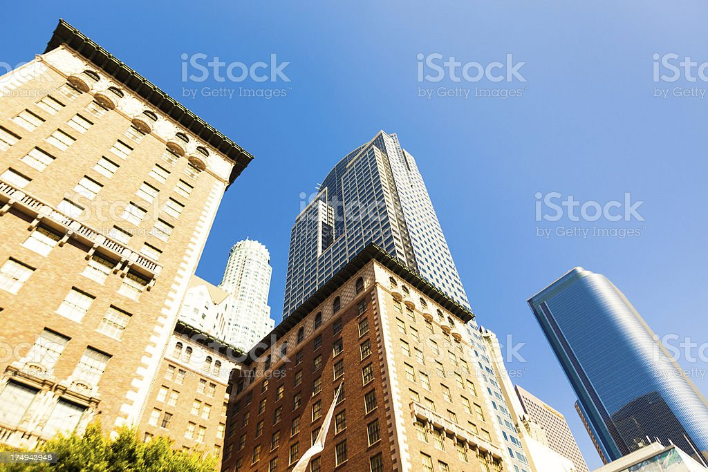 San Francisco downtown skyscrapers, USA. royalty-free stock photo