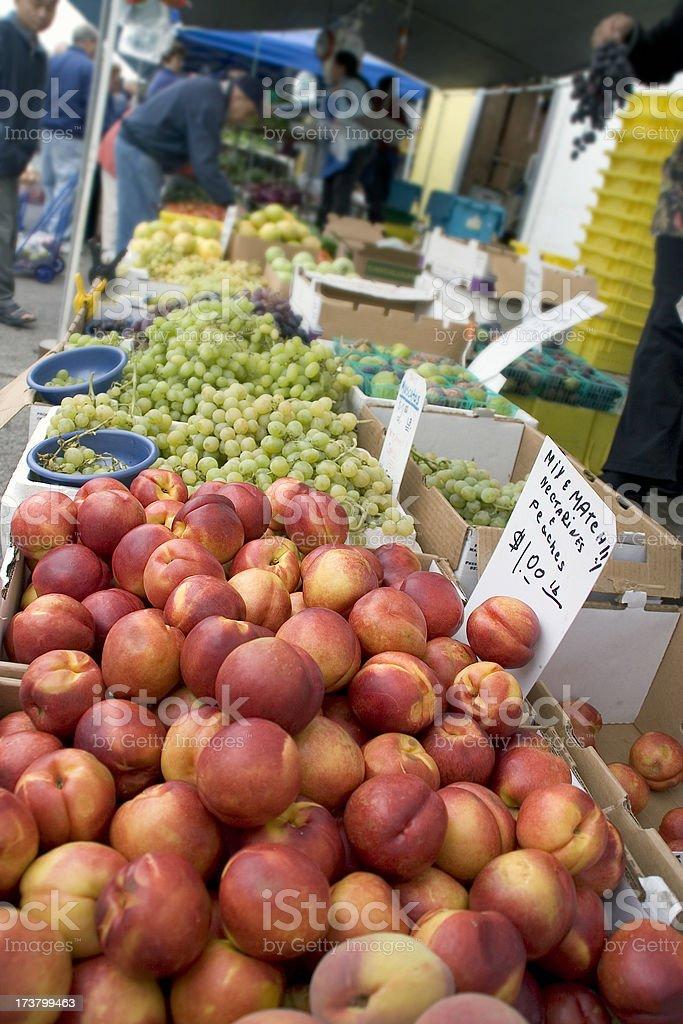 San Francisco: Ethnic Farmers Market royalty-free stock photo