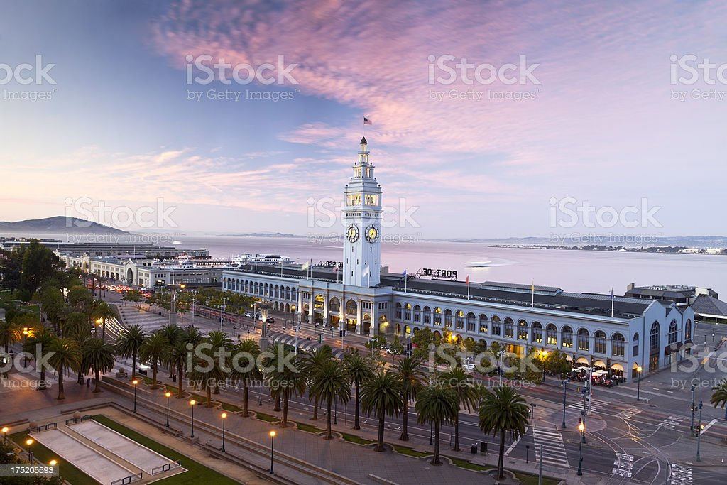 San Francisco Ferry Building stock photo