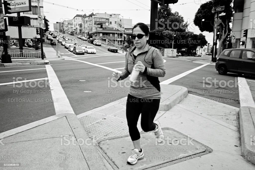 San Francisco Financial District stock photo