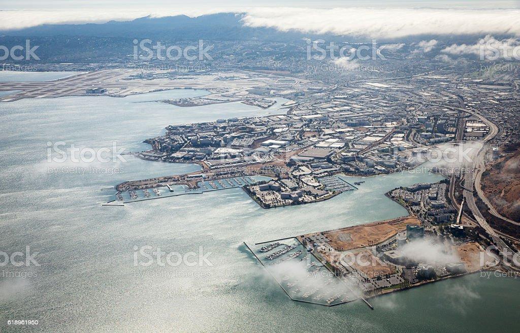 San Francisco From Air stock photo