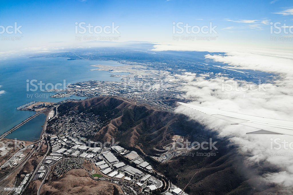 San Francisco From Air stock photo