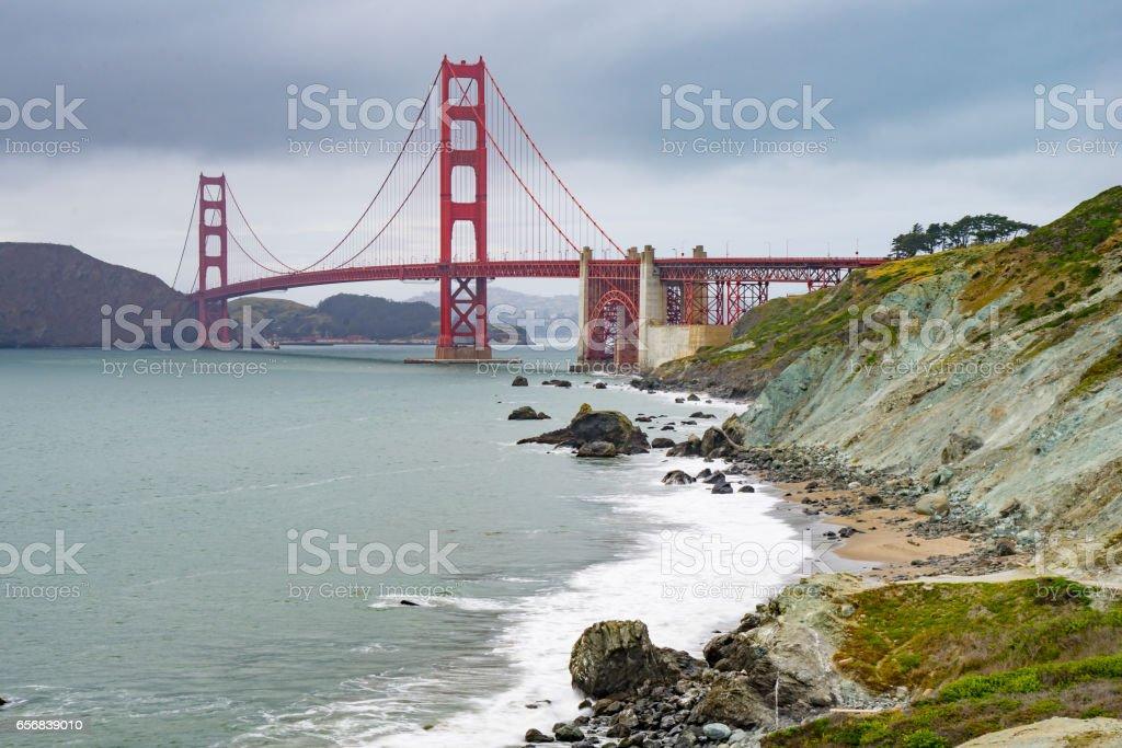 San Francisco Golden Gate Bridge stock photo