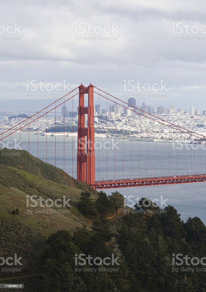 San Francisco Golden Gate royalty-free stock photo
