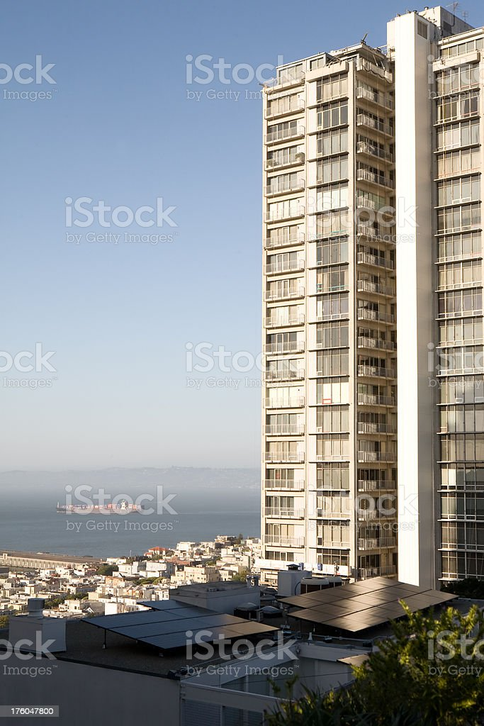 San Francisco Highrise royalty-free stock photo