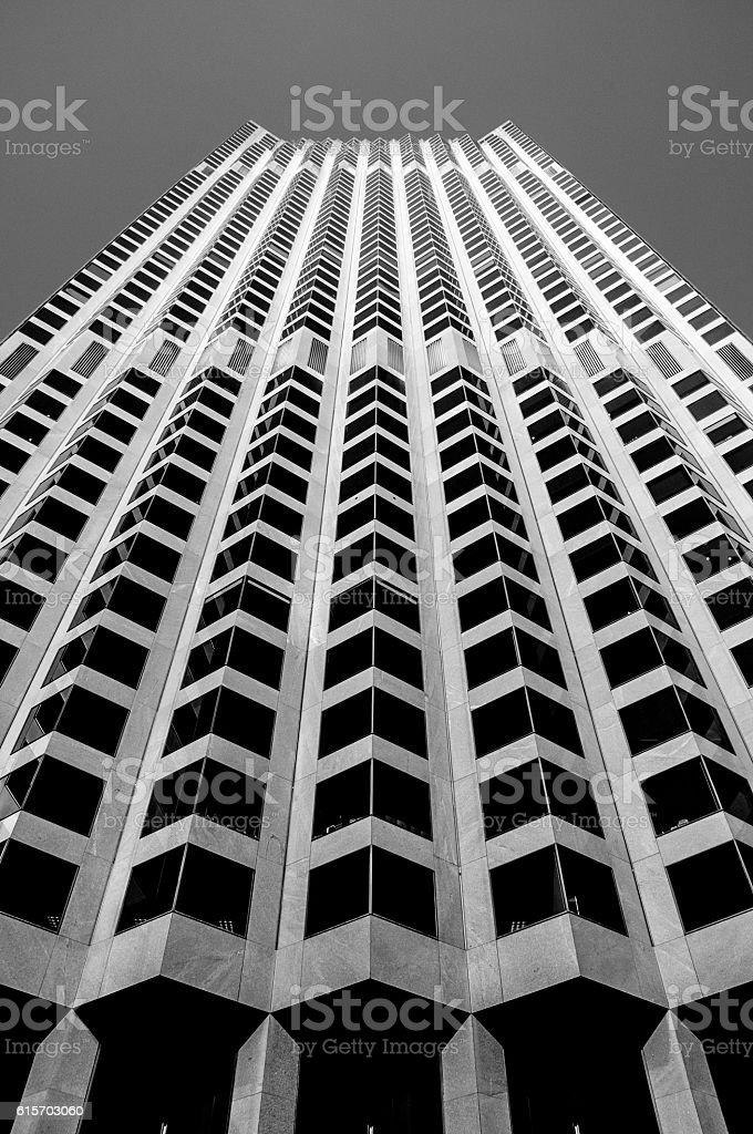 San Francisco Hi-rise Abstract stock photo