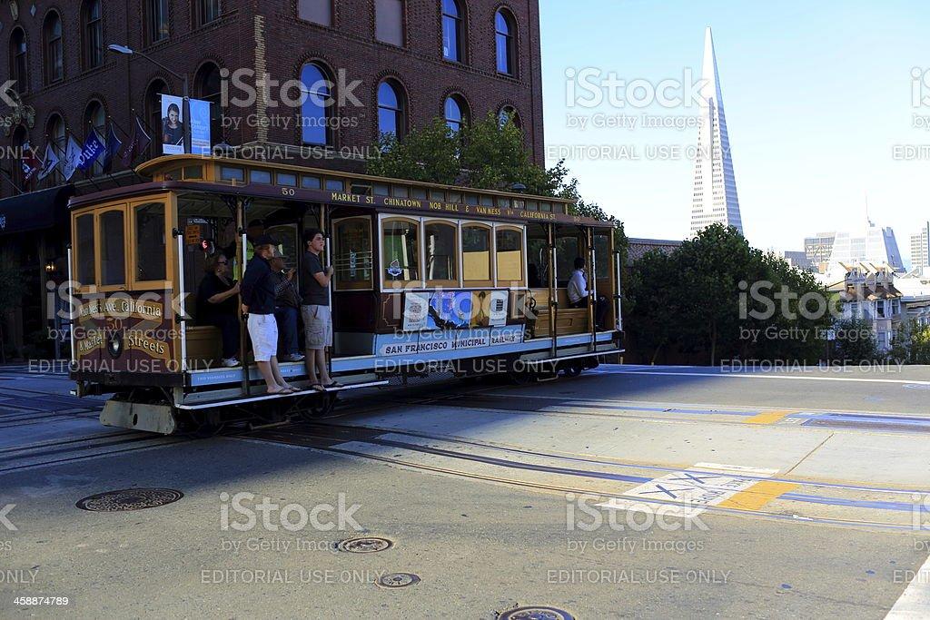 San Francisco: Historical Cable Car royalty-free stock photo