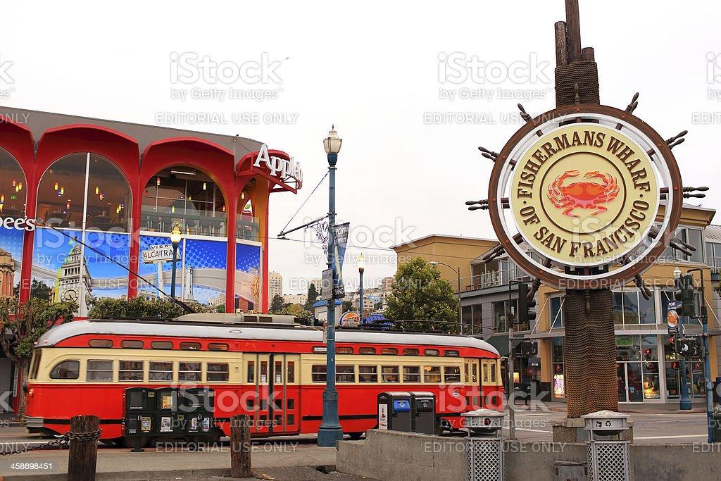 San Francisco: Historical Street Car stock photo