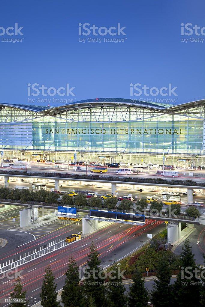 San Francisco International Airport royalty-free stock photo