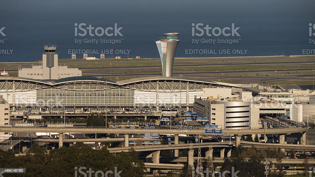 San Francisco International Airport stock photo