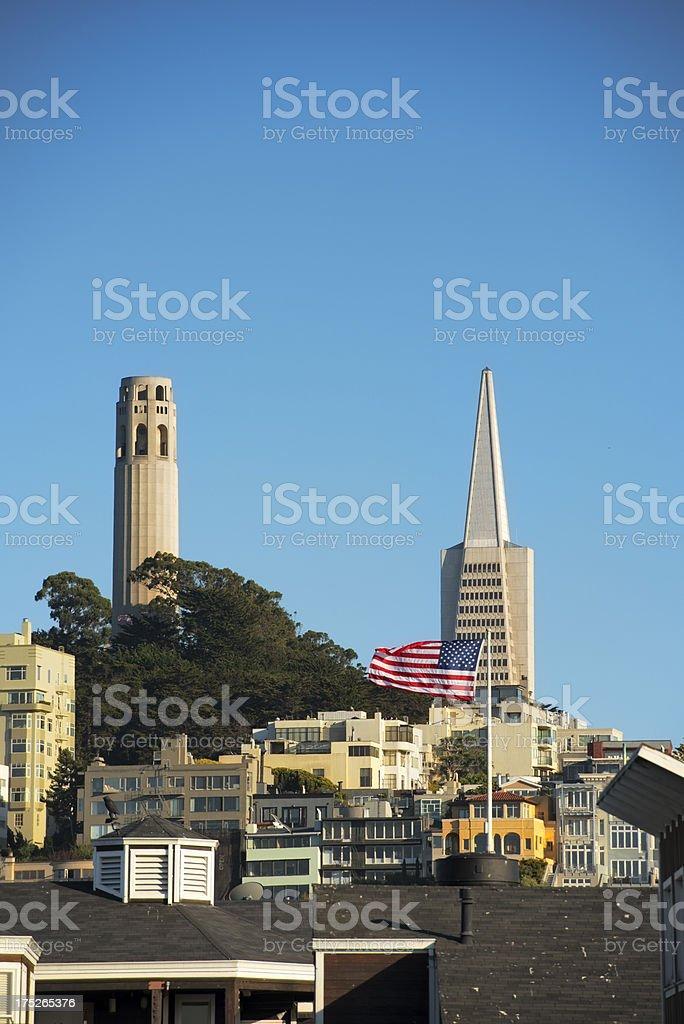 San Francisco Landmarks stock photo