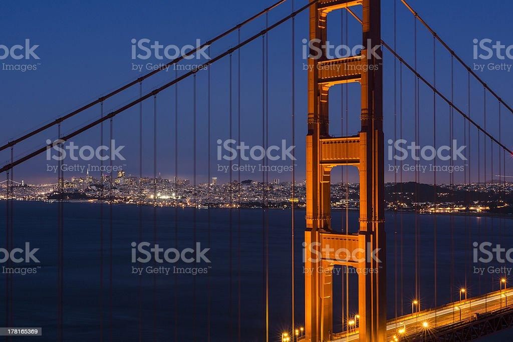 San Francisco Lights royalty-free stock photo